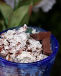 Glass med chokladkross