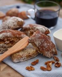 Lantbröd med valnötter